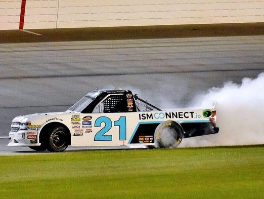 Johnny Sauter Wins Chicagoland Nascar Truck Race