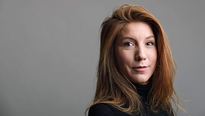 This family handout photo released on Aug. 12, 2017, shows Swedish journalist Kim Wall who was allegedly on board a submarine south of Copenhagen before it sank on August 11, 2017.