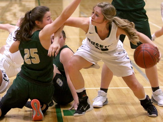 West Allis Hale's Zoe Burczyk (right) was one of the