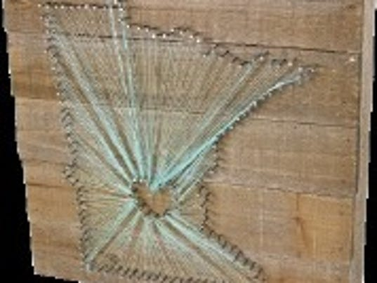 Wood nail string art best image nail 2017 string nails wood that s all you need for art prinsesfo Images