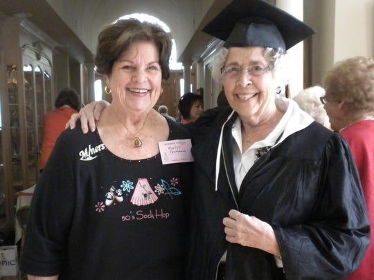 Marilyn Cromeans, left, and Sandra Crossland.