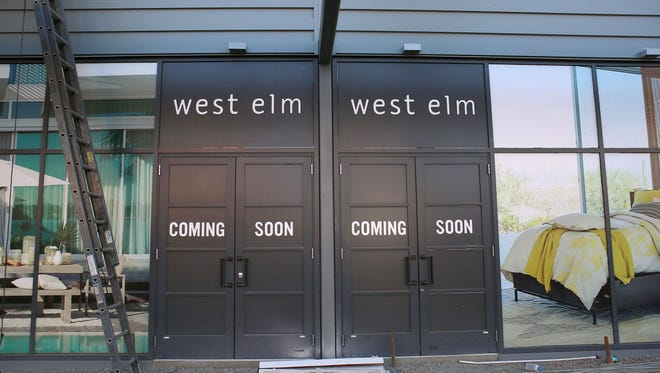 Block A of the Palm Springs downtown redevelopment will be home to a West Elm housewares store among other things.