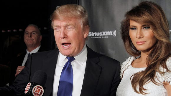The Trumps at a past event.