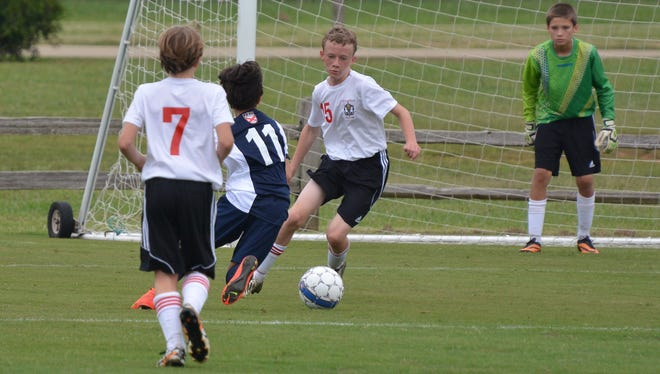 The Tennessee Cup youth soccer tournament, hosted by the Tennessee State Soccer Association, is one of many championship events played at Siegel Soccer Park in Murfreesboro.
