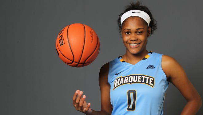 Marquette women's basketball player Tori McCoy is waiting for a kidney donation.