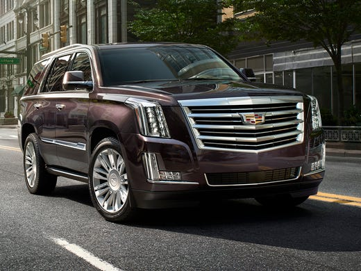 2015 Cadillac Escalade Gets More Bling New Top Model