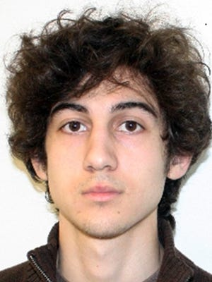 Dzhokhar Tsarnaev is charged in a 30-count indictment that alleges he conspired with his late brother, Tamerlan, to build and detonate two  bombs  near the Boston Marathon finish line.