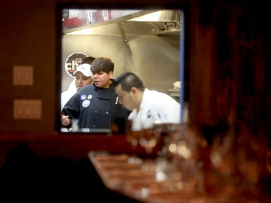 Chef Saran, of Little Drunken Chef, says she is thankful to her staff for dedicating time over Thanksgiving to give to others.