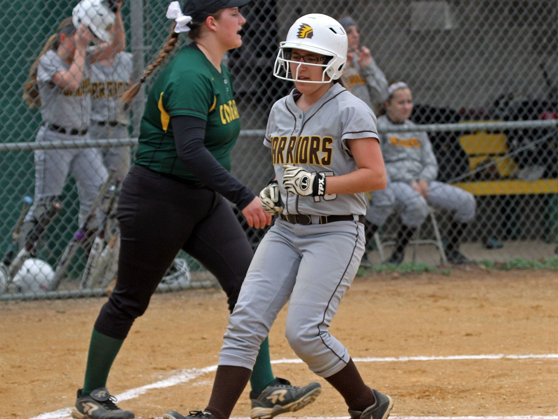 Watchung Hills' Annie Suitovsky was one of several Warriora who posted a big day Tuesday as WH beat then-undereated Hillsborough