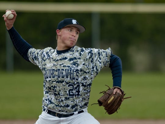 Dillon McInerney and the Richmond baseball team won the Blue Water Area Conference title.