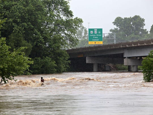 Record flooding on June 19 rips across the Southwood