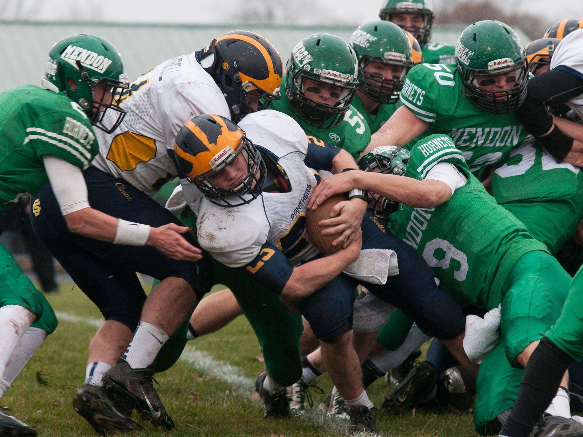 Climax-Scotts once again finished first in the SCAA standings in 2014 with a 6-0 record, going 8-1 overall.
