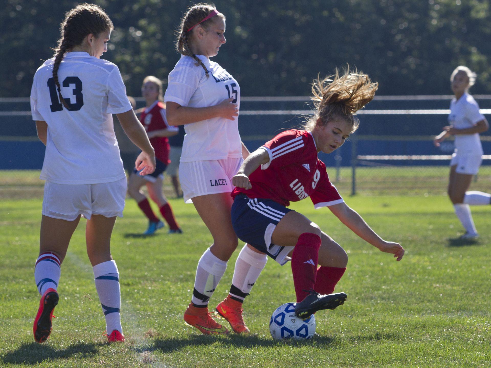 Girls Soccer: Lacey vs Jackson Liberty