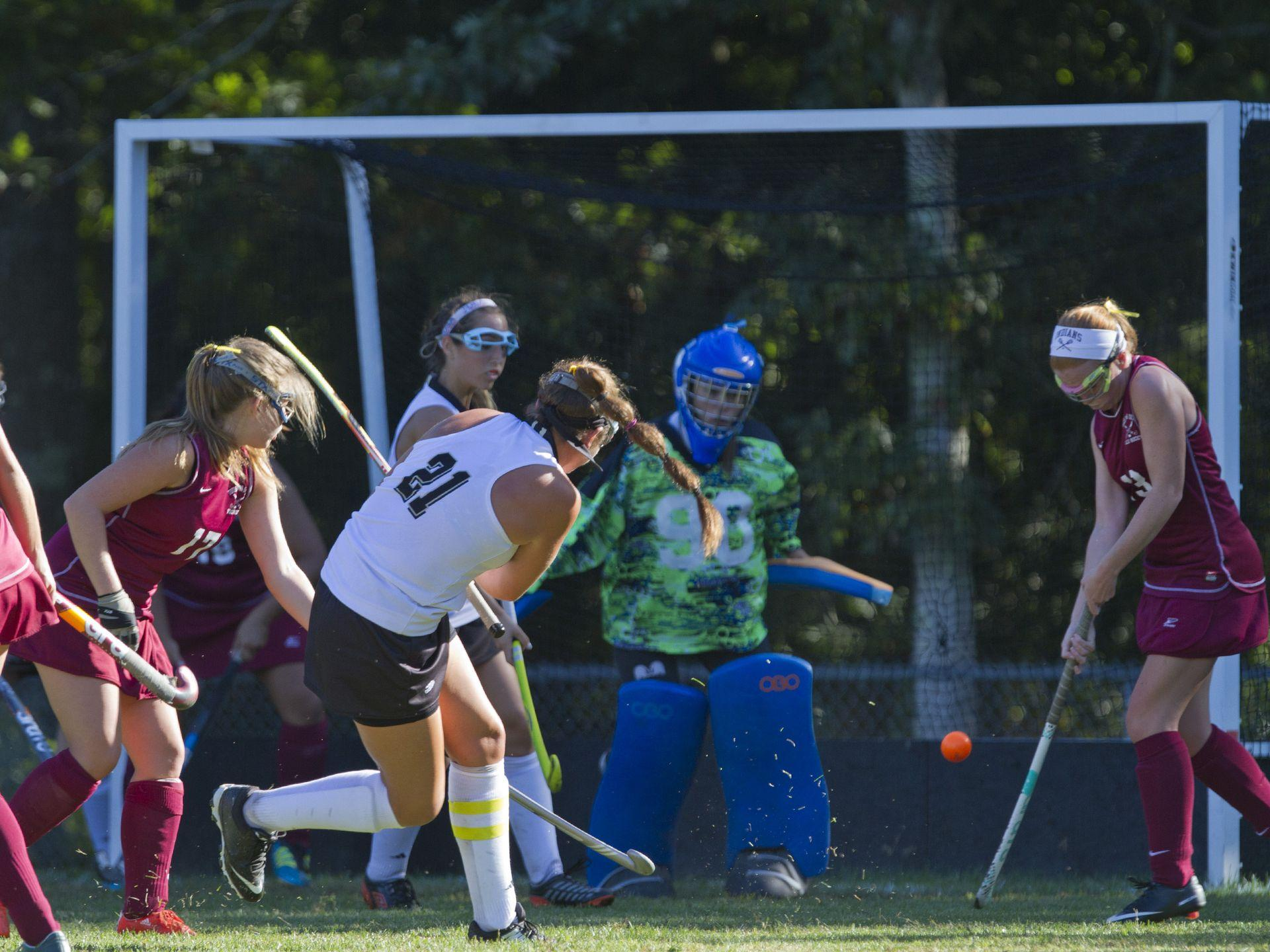 Toms River South Field Hockey vs Toms River South in Stafford Township NJ on September 23, 2015
