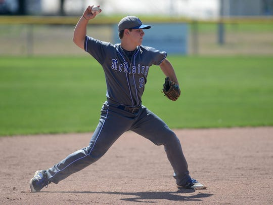 Sidney Rickman is a junior on the McNairy Central baseball team.