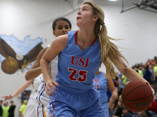 USJ's Anna Jones has been a Division II-A Miss Basketball finalist for the past two seasons.