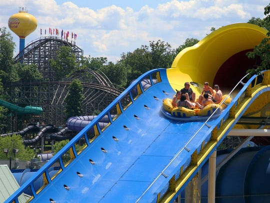 Mammoth at Splashin' Safari, part of Holiday World, Santa Claus, Ind.: At 1,763 feet, Mammoth gets the nod for the world's longest water coaster.