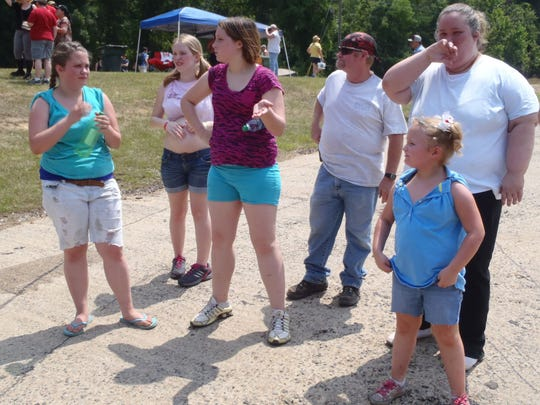 """The """"Honey Boo Boo"""" clan in a scene from the now-canceled show."""
