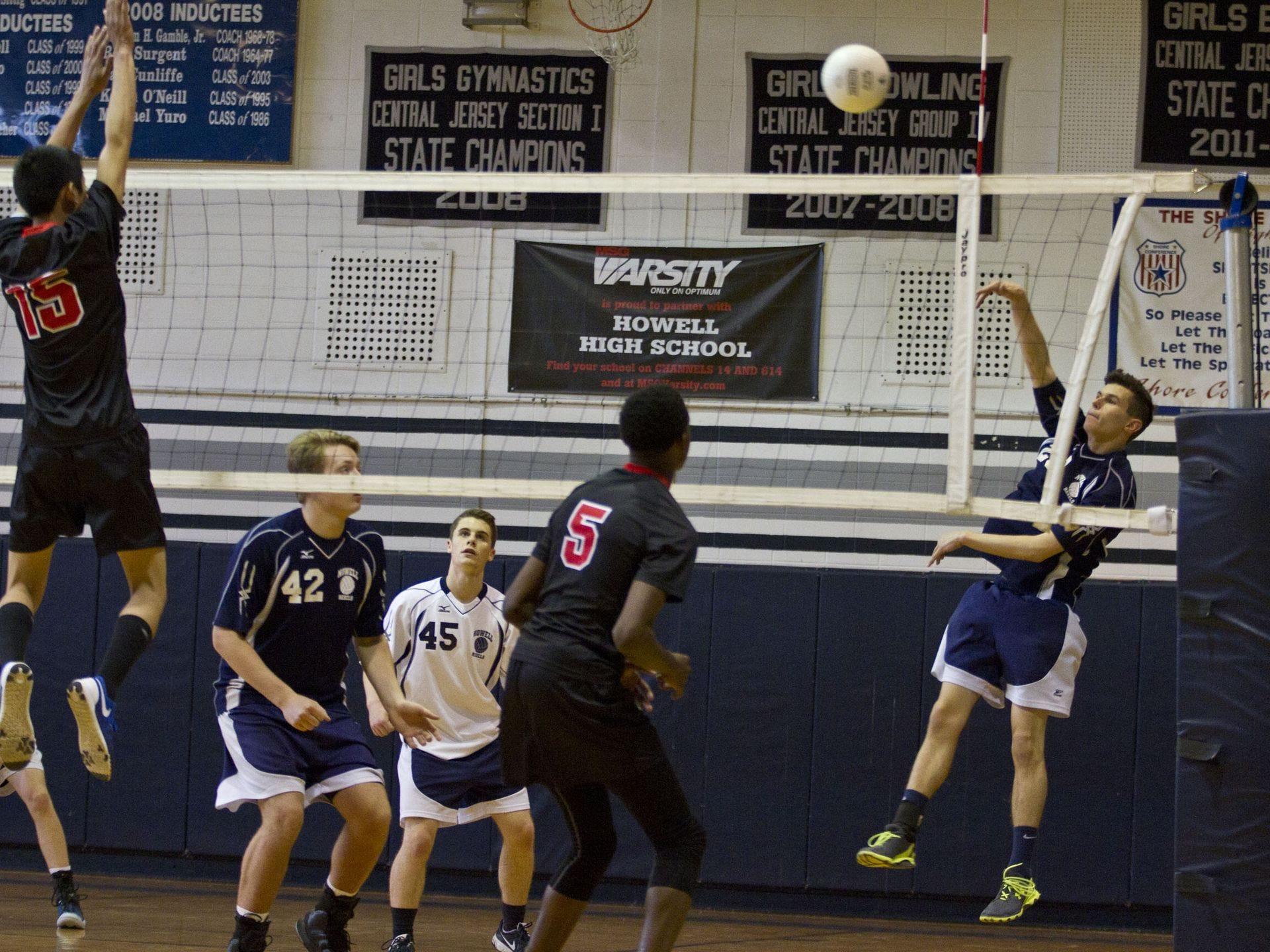 Boys volleyball