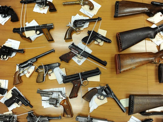 nj gun laws tough laws mean guns used in crimes come from outside nj