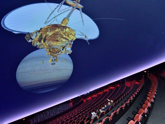 The Jennifer Chalsty Planetarium at the Liberty Science
