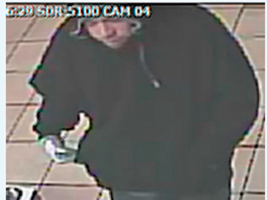 Reno police are searching for a suspect believed to be involved in three armed robberies in Reno.