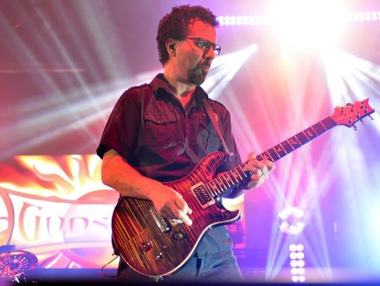 Godsmack guitarist Tony Rombola