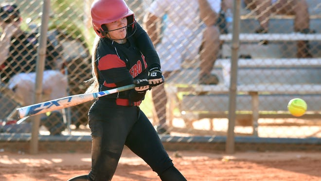 Vero Beach's Alex Jugenheimer, seen during a game April 20, 2017, hit two home runs in the first inning Thursday, April 19, 2018, against Lincoln Park Academy. One of those was a grand slam.