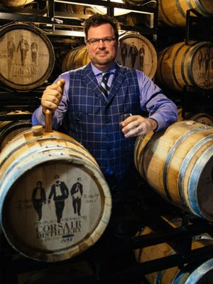 Corsair Distillery co-founder Darek Bell helped launch the company in 2008.