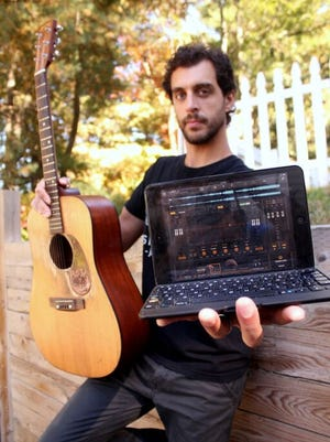 Dan Tedesco, 33, recorded his fourth solo LP using applications on his iPad.