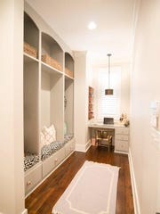Storage is abundant throughout the home.