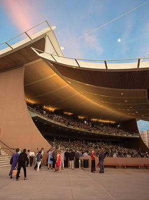 The Santa Fe Opera in New Mexico.