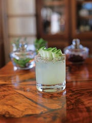 A mezcal-based Summer Smoke cocktail from Press St.