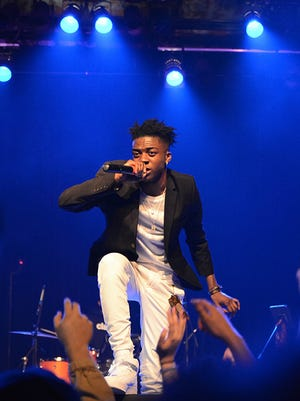 Rapper IshDARR performed for a few hundred fans at a hometown headlining show at Turner Hall Ballroom Wednesday.