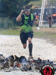 Chambersburg's Ryan Kaczmark ran to a Top 10 finish at the Spartan Ultra Beast race in Killington, Vt. on Sept. 16.