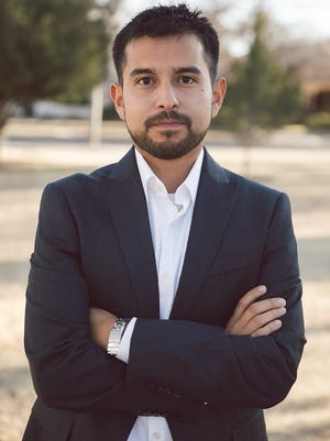 Democrat Angel Peña works for the Conservation Lands Foundation in Las Cruces.