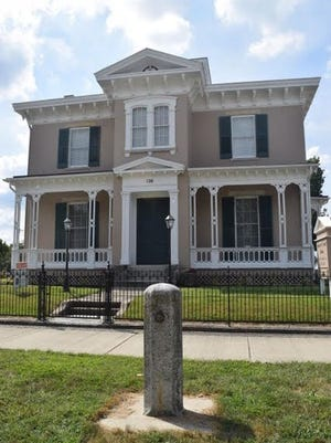 This historic home in Richmond was built by Andrew F. Scott in 1859. Since then, it has undergone multiple restorations which have helped modernize the home while maintaining the historical feel.