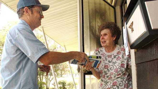 Lawmakers want to give senior citizens a tax break, by freezing the value of their homes. (file photo from 2006)