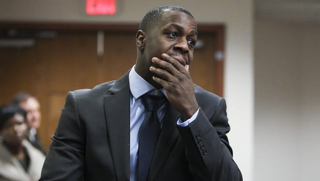 Chris Jones at a hearing March 9.