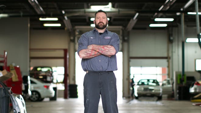 Tim Herman is a Mercedes-Benz Tier 2/Elite certified technician at Gates Automotive in Henrietta.