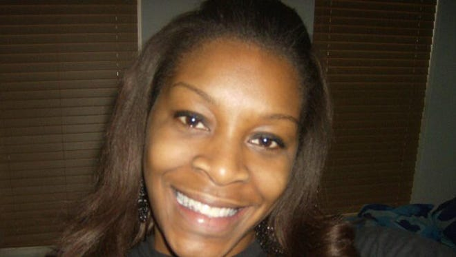 In this undated photo provided by the Bland family, Sandra Bland poses for a photo.