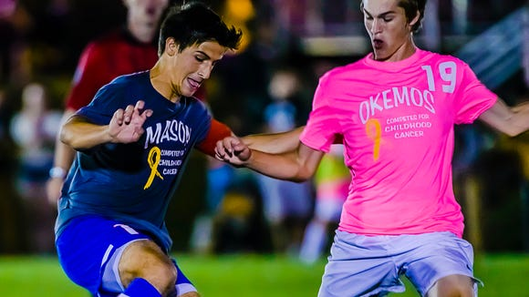 Mason is ranked No. 5 in Division 2 this week.