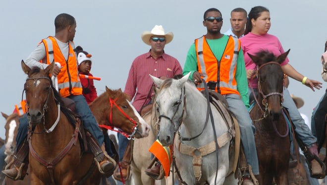 The Step-N-Strut Trail Ride attracts more than 10,000 people per day to Opelousas.