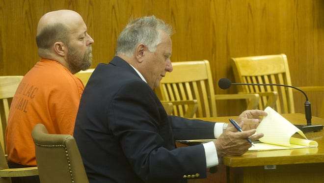 Robert Diamentis, of the Town of Ripon, appears in Fond du Lac County Court on June 26 for a preliminary hearing.