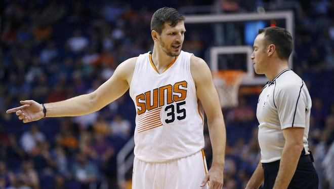 Mirza Teletovic appeared in 79 games with Phoenix last season and averaged 12.2 points and 3.8 rebounds in a reserve role.