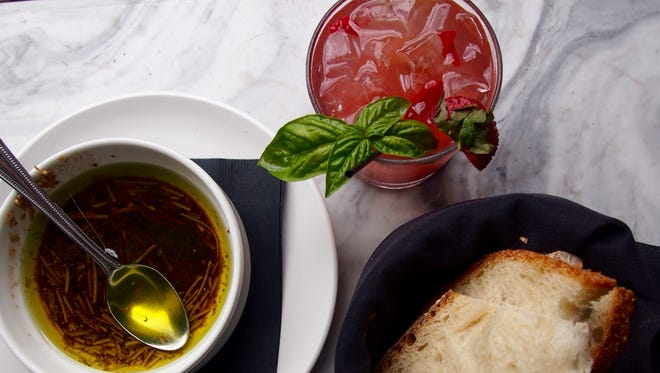Soups and salads are popular with the lunch crowd — daily specials of each add fresh selections to the regular menu.