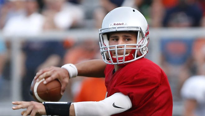 West Lafayette quarterback Mikey Kidwell put up big numbers in Week 1.