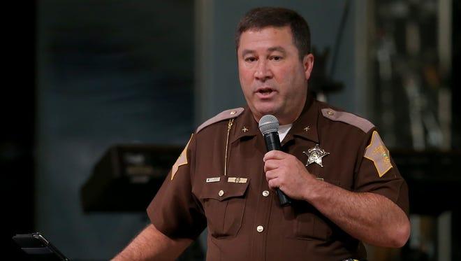 Johnson County Sheriff Doug Cox