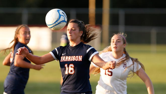 Senior Allison Hannon is second on the Raiders in goals and leads the team in assists.