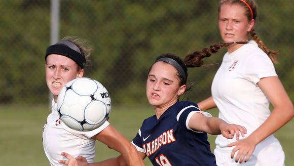 Soccer star Lexi Fraley also made an impact for Harrison's basketball and track programs.